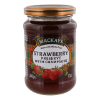 Strawberry preserve aardbei jam met champagne