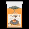 Totopos blauwe maïs tortilla chips