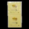 Z-notes zelfklevende etiketten geel 76 x 76 mm
