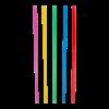 Shake rietjes assorti kleuren