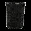 Bestekmand 12 x 15 cm, zwart