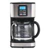 Koffiezetapparaat RVS, zwart