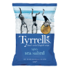 Chips lightly sea salted