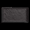 Livelli serveerschaal zwart 26 x 15 cm