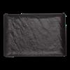Livelli serveerschaal zwart 30 x 21 cm
