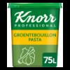 Groentebouillon Pasta, opbrengst 75 liter