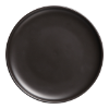 Bord zwart,  23 cm