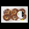 Bagel met nigella zaden, vegan BIO