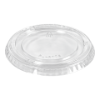 Cup rPET lid 100/120ml, transparant