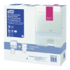 H2 1 dispenser + 1 refill mini multifold hand towel starter pack