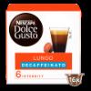 Koffiecups lungo decaffeinato