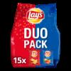 Flatchips duopack paprika chips