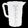 Maatbeker kunststof 0.5 liter