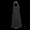 Kookschort met verstelbare nekband gestreept 100 x 100 cm