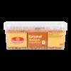 Karamel blokjes garnering voor ijs en taart