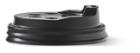 Deksel t.b.v. koffiebeker 180ml plastic zwart