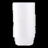 Beker voor magnetron met deksel 300 ml transparant