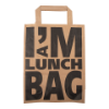 Draagtas papier I'm a lunch bag