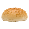 Luxe burgerbroodjes gesneden