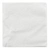 Servetten 1-laags wit, 23 x 23 cm