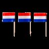 Prikker met Hollandse vlag