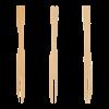 Vork bamboe 9 cm