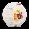 Kalfsgehaktballetjes in jus met bloemkool à la crème-kerrie en aardappel rosti's