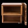 Acacia menustandaard 18 x 15 x 13 cm