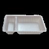 Plastic bakje wit A20 2-vaks (sausbakje)