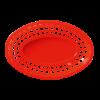 Hamburgermand rood rood