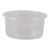 Cup rond 101 mm 250ml plastic transparant