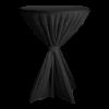Statafelrok poly, zwart