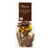 Chocolade paard melk-karamel-zeezout
