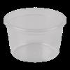 Cupje 30 ml plastic transparant