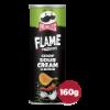 Flame kicking sour cream
