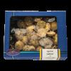 Mini quiche gevuld met paddenstoel