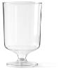 Wijnglas op voet, glashelder 150 cc