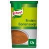 Bruine bonensoep