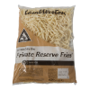 Frites private reserve 5 x 5