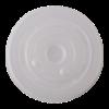 Deksel 89 mm met insnede t.b.v. milkshake beker 300/400/500 ml