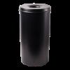 Papierbak meet vlamdover zwart 50 liter