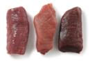 Wild trio biefstuk Hert, haas en wild zwijn.