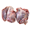 Hazen stoofvlees gesneden