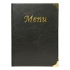 Budget menumap zwart A4