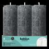 Stompkaars Rustiek, Grijs, 19cm, 85 branduren
