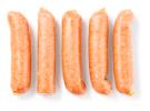 Gegaarde varkens rookworst met zout en kruiden 80 gram , BL1