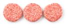 Runderhamburger peper/zout met zout en kruiden grof gedraaid