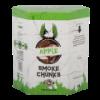 Apple smoke chunks