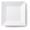 Bord vierkant 26 x 26 cm melamine, wit