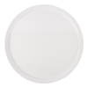 Bord rond  50.8 cm melamine, wit